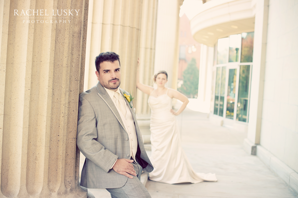 Erie County Courthouse Wedding photo // Erie PA wedding photography