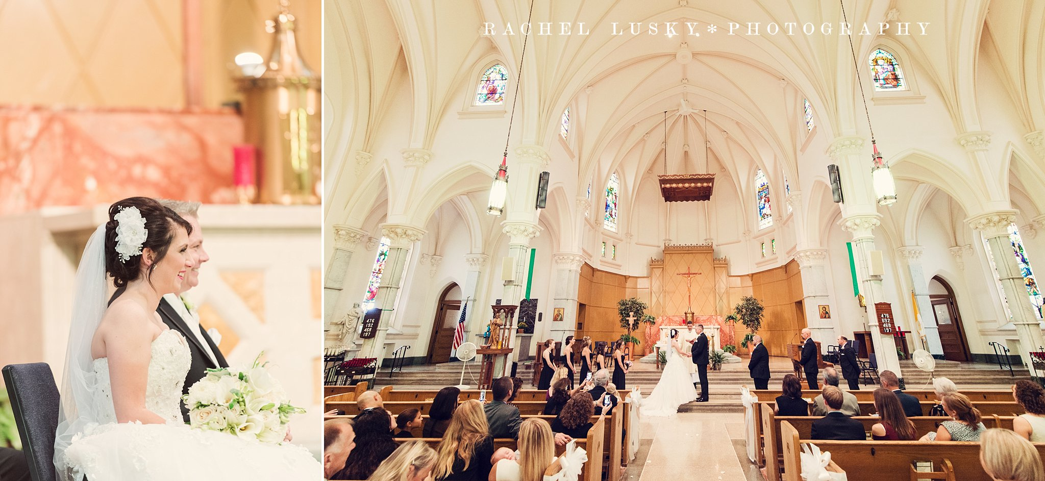 Saint Andrew's Episcopal Wedding Photography