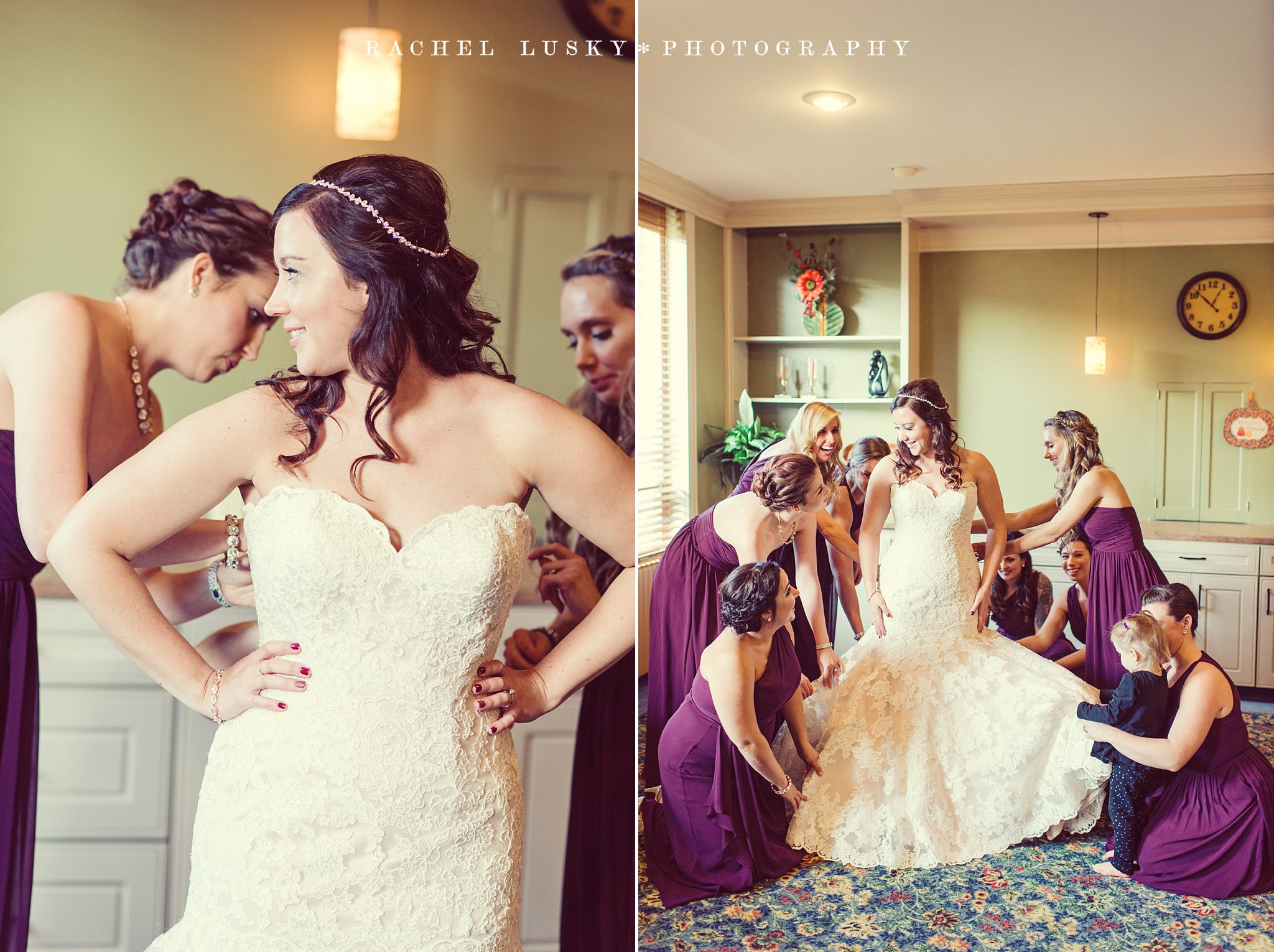 Erie PA Wedding Photographer, Wayside Presbyterian Church